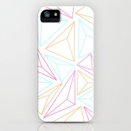 Triangle Pattern iPhone Case