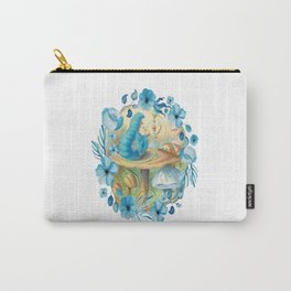 Alice and the Caterpillar - Alice in Wonderland Carry-All Pouch