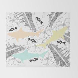 Shark Tank Throw Blanket
