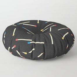 Matchsticks Floor Pillow