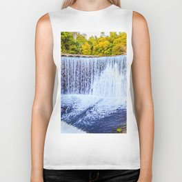 Monk's waterfall Biker Tank
