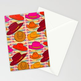 Cowboy Hat Print Stationery Cards