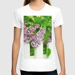 Lilac bush T-shirt