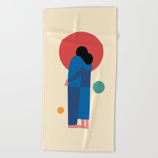 A Moment Beach Towel