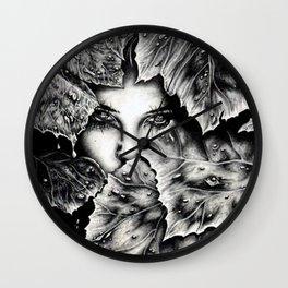 Veiled Shadow Wall Clock