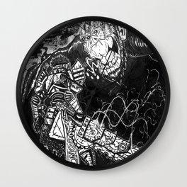 The Junkyard Knight Wall Clock