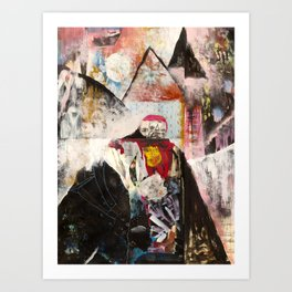 Intention Gets Lost In The Details Art Print