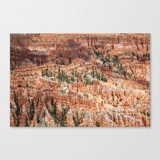 Hoodoos, Bryce Canyon Canvas Print