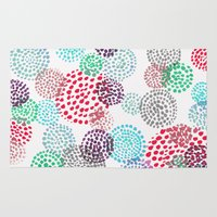 bubbles Area & Throw Rugs featuring Bubbles by Snehal Jain