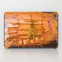 pirate ship iPad Cases featuring pirate ship by Vector Art