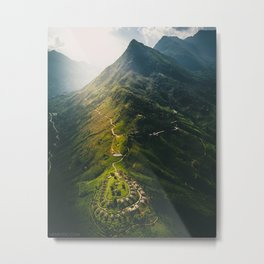 Northern Vietnam, Sapa Metal Print
