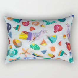 All things bright and beautiful Rectangular Pillow