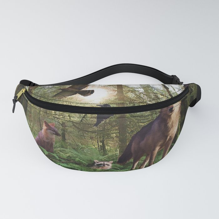 Forest Animals Fanny Pack
