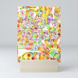 BONKERS! Mini Art Print