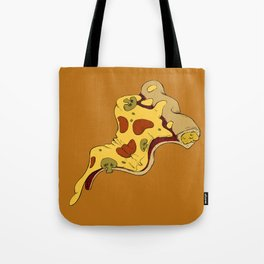 Pizza waves Tote Bag