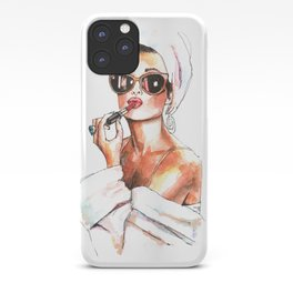 Fashion Lady iPhone Case