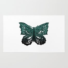 The Beauty in You - Butterfly #3 #drawing #decor #art #society6 Rug