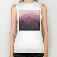 mountains Biker Tanks featuring The Heart Of My Heart by Tordis Kayma