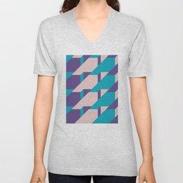 Abstract Glow #society6 #glow #pattern Unisex V-Neck