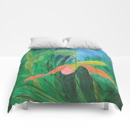Pink Lady: Orchid Series Comforters