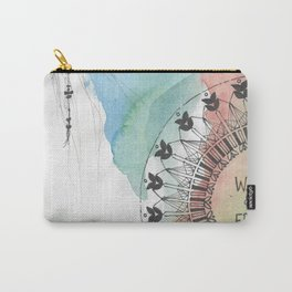 Young Wild & Free Carry-All Pouch
