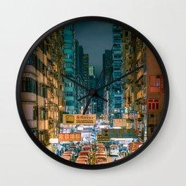 Mong Kok, Hong Kong Wall Clock