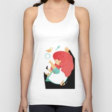 ALICE IN WONDERLAND Unisex Tank Top