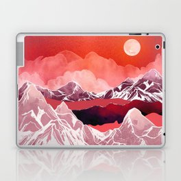Scarlet Glow Laptop & iPad Skin
