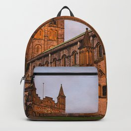 Abbey at Sunset Backpack
