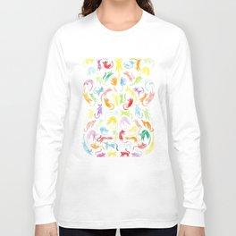 Neon Kittens Long Sleeve T-shirt