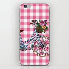 Her Bicycle iPhone & iPod Skin