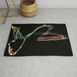 Polynomial colors Rug
