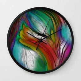 EMERGING TULIP Wall Clock