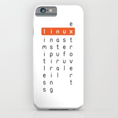 Linux - limitless, inspiring, natural, useful, extrovert - horizontal iPhone 6s Slim Case