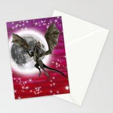 Black Dragon Stationery Cards