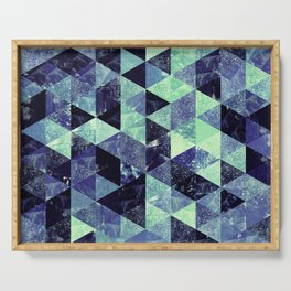 Abstract Geometric Background #6 Serving Tray