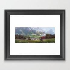 EPic vista  Framed Art Print