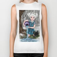 aquarius Biker Tanks featuring Aquarius by Paula Ellenberger