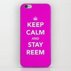 Keep calm and stay reem iPhone & iPod Skin