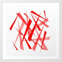 chaos Art Prints featuring chaos by Sébastien BOUVIER