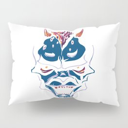 Blue Demon Pillow Sham