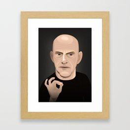 Terence Fletcher - Whiplash Framed Art Print