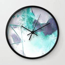 Azure mystique Wall Clock