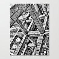 frames Canvas Prints featuring Frames by Mark Alder