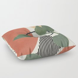 Nature Geometry III Floor Pillow