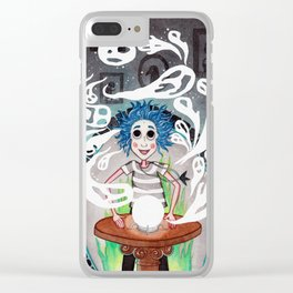 Noche Fantasmal Clear iPhone Case