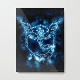 Team Mystic - Articuno Metal Print
