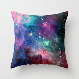 SPACE--STARS Throw Pillow