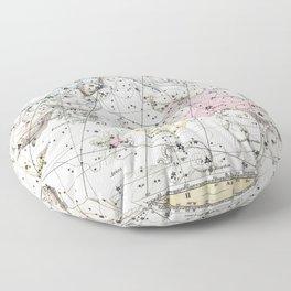 Celestial Atlas Plate 3 Alexander Jamieson, Perseus and Andromeda Floor Pillow