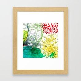Summer Rain Framed Art Print